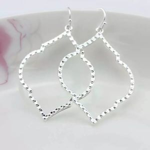 Silver tone earrings NEW